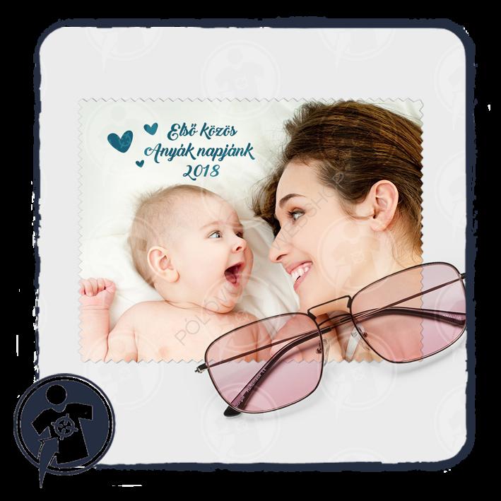 0a86d3beeb Szemüvegtörlő kendő | Anyák napi szemüvegtörlő kendő - fényképes ...