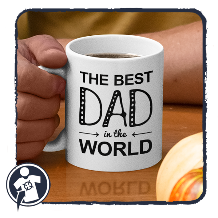 THE BEST DAD in the WORLD - feliratos apa bögre