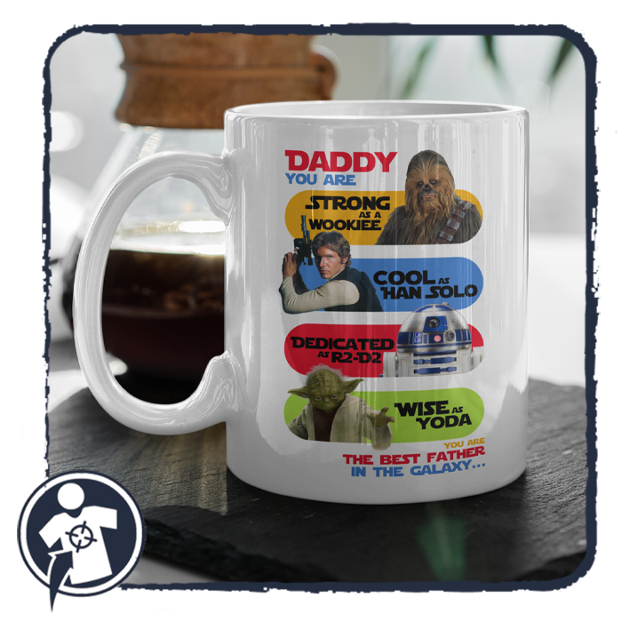 Star Wars APA bögre - DADDY you are... the best father in the galaxy