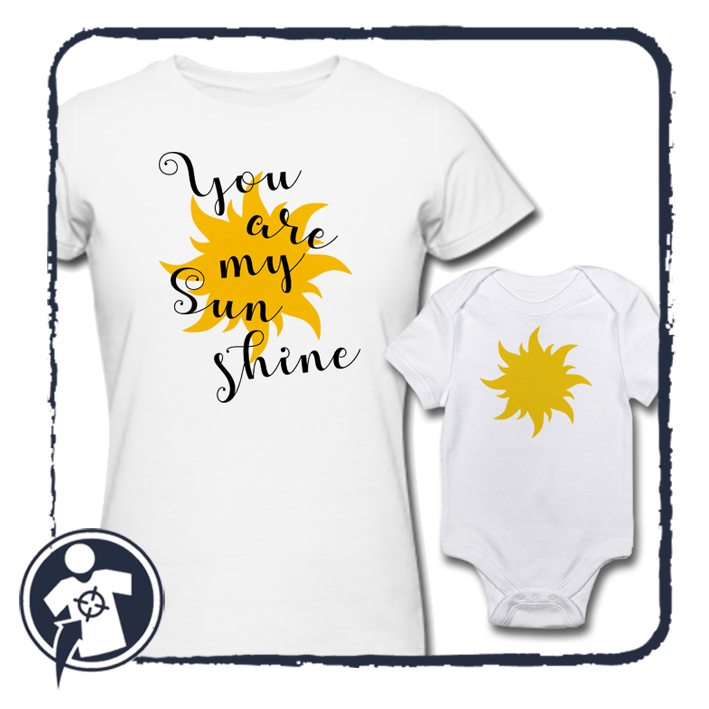 You are my Sunshine - Napsugaram Anya - lánya / Anya - fia szett
