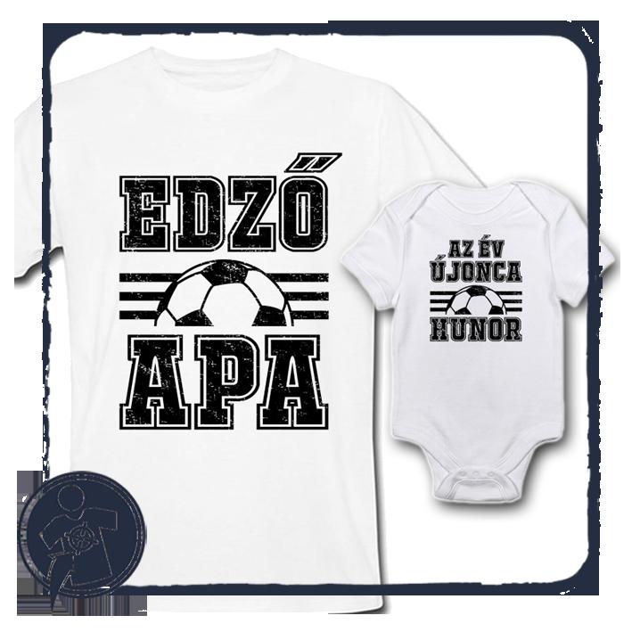 az EDZŐ és az ÚJONC focis APA-FIA szett névvel empty 51c2900d26