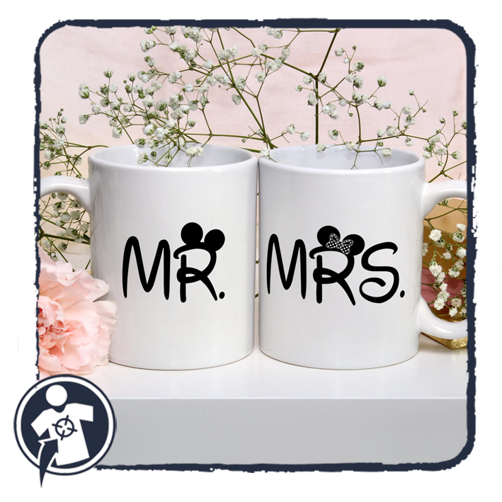 Mr & Mrs - páros bögre