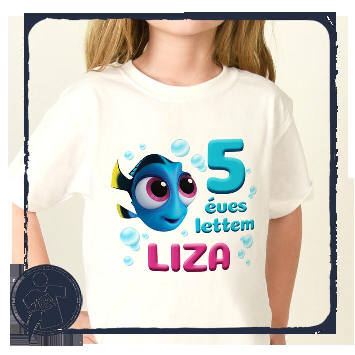 f4923ca7e6 Gyerekeknek - babáknak   Mesefigurás szülinapos body vagy gyerekpóló    Egyedi feliratos pólók, fényképes ajándékok