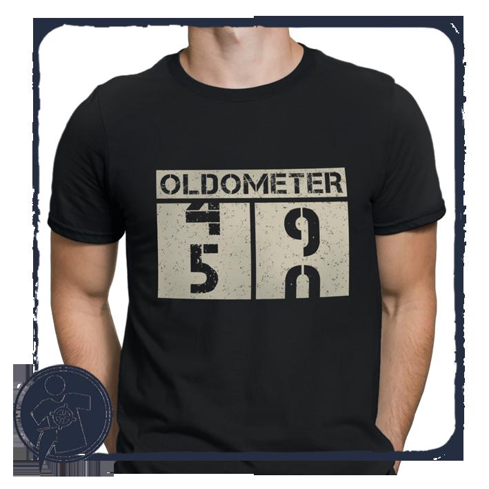 Oldometer - szülinapi póló empty 8910918356
