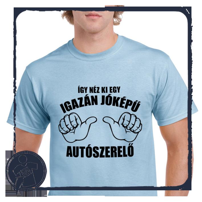 AUTÓSZERELŐ - vicces feliratos póló empty d610982e22