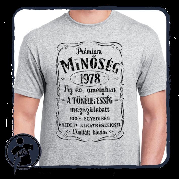 cdd73cbff9 Születésnapra | Jack Daniels évszámos póló - születésnapra | Egyedi ...